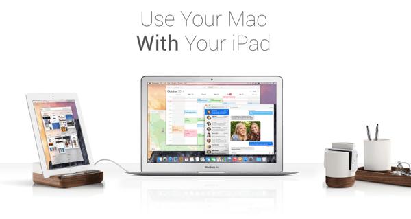 「Duet Display」iPhone/iPadをライトニングケーブルで接続したMacの外部モニタにするiOSアプリ