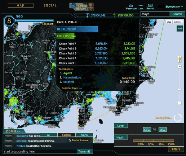Tokyo cell score