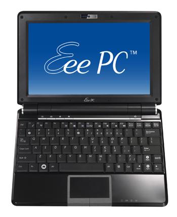 ASUS、10インチ・160GB「Eee PC 1000H-X」発表