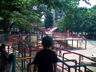 与野公園の遊具