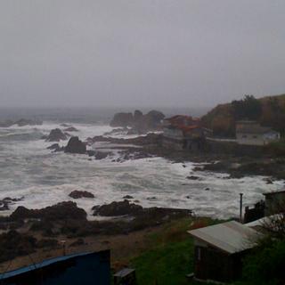 海に面しすぎてる食堂「小舟渡食堂」