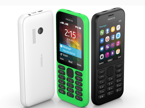 「Nokia 215」29ドル!TwitterやFacebookといったアプリも使える携帯電話