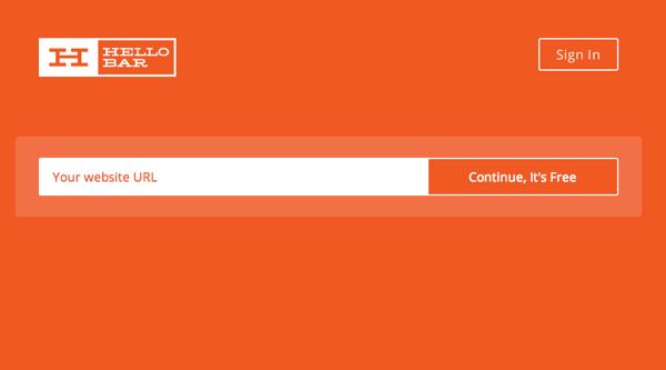 【ブログ】ヘッダーにリンクを追加できる「Hello Bar」