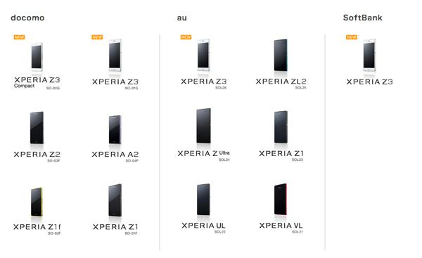 ソニー「Xperia」旧モデルを格安スマホとして投入へ