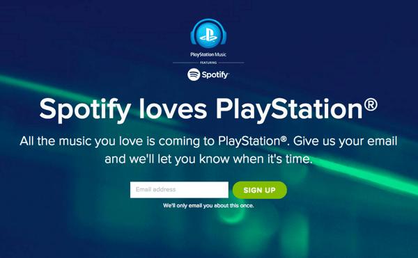ソニー、Spotifyと協力「PlayStation Music」2015年3月29日より開始