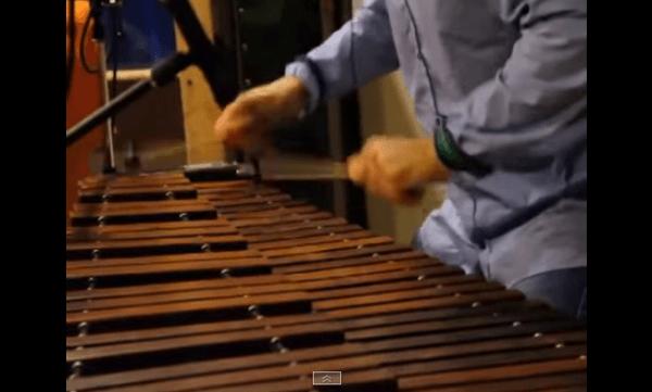 【動画】手の動きが速すぎて見えねぇ‥‥くらいの勢いで弾きまくる木琴奏者