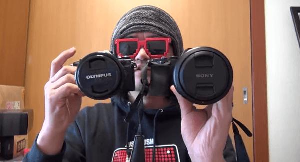 【動画】OM−D E-M5 Mark IIのハイレゾショット40メガピクセルとα7Rの36メガピクセル高画素撮影の無慈悲な対決