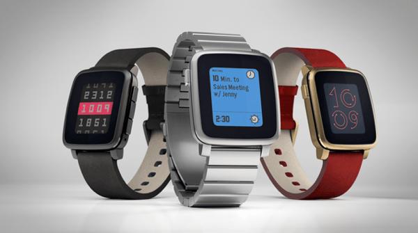 【Pebble Time】スチール製でビジネスでも使えそうな「Pebble Time Steel」も登場