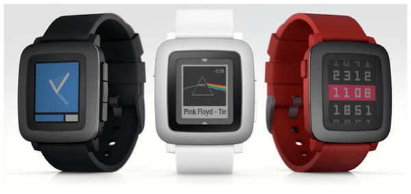 【Pebble Time】3Dプリンターで出力したものを「Pebble」「Apple Watch」と比較するとサイズ感が分かって素敵