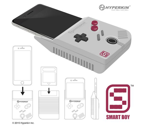 iPhone 6 Plusでゲームボーイのカセットが遊べるようになるかもしれないハードウェア「Smartboy」
