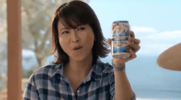 【動画】森高千里・飲〜も〜う〜♪20年ぶり「気分爽快」セルフカバーでビールのCMソングに