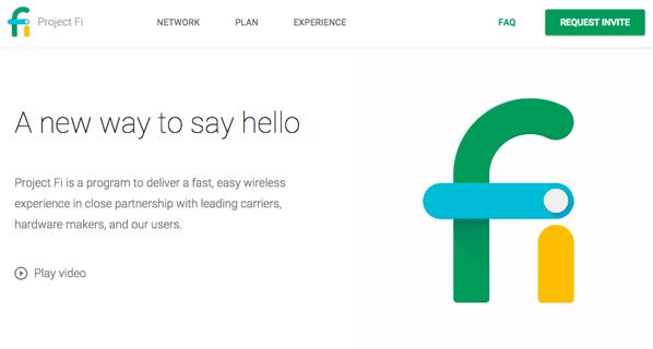 「Project Fi」携帯電話網とWiFiがシームレスに繋がるGoogleの携帯通信サービス