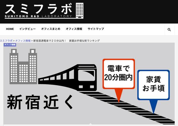 「新宿直通電車で20分以内! 家賃お手頃な街ランキング」があった → その時、浦和は。