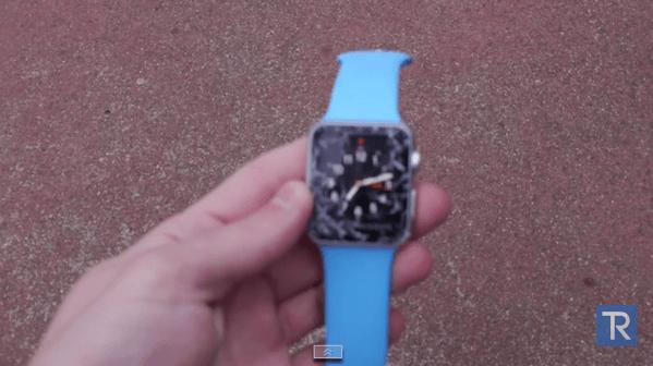 【動画あり】「Apple Watch」落下テスト → どんな風に落としたら割れるか?