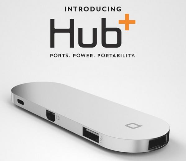 【MacBook】SDメモリカードリーダーやモバイルバッテリー機能まで備えたUSB-CのUSBハブ「Hub+」