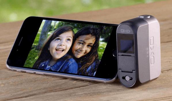 「DxO ONE」iPhoneのLightningコネクタに接続するカメラユニット