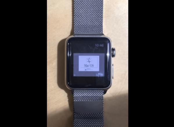 【Apple Watch】エミュレーターを使いMac OS 7.5.5を動作させる動画が公開される