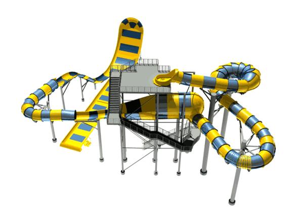 全長182mの巨大ウォータースライダー「スプラッシュシェイカー」千葉の蓮沼ウォーターガーデンに登場