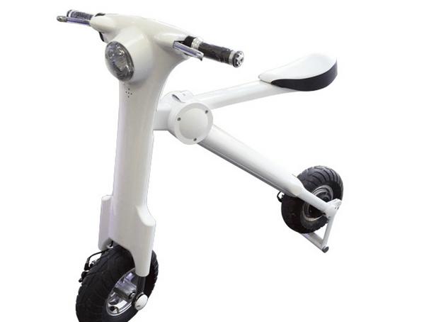 「スクートマン」5秒で折りたたみができる電動スクーターが158,000円で日本でも予約受付中