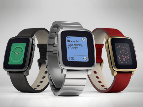 「Pebble Time Steel」2015年7月末に出荷開始
