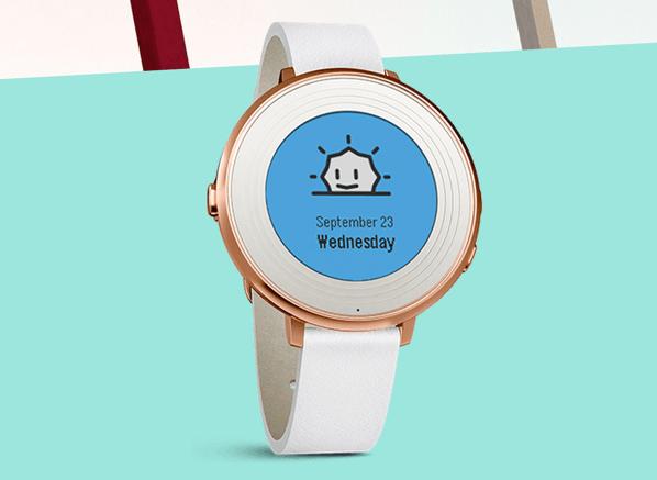 【Pebble】円形のスマートウォッチ「Pebble Time Round」発表!重量はわずか28g!