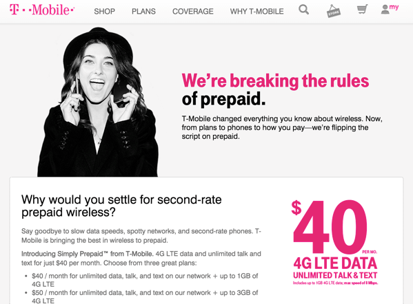 【SIMフリー】アメリカで「T-Mobile」の40ドルで無制限のプリペイドSIMカードを試す