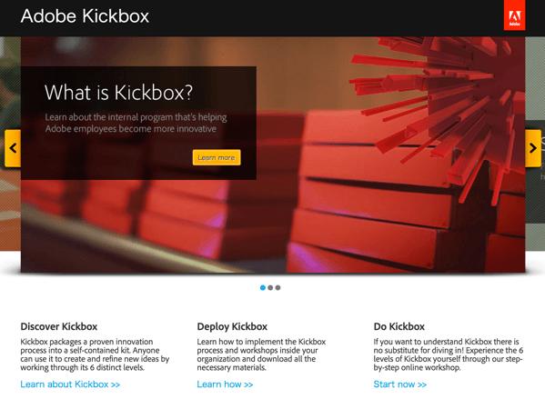 まずは1,000ドル!Adobeの隠れた才能を発掘する「Kickbox」オープンソースで誰でも利用可能 #AdobeMAX