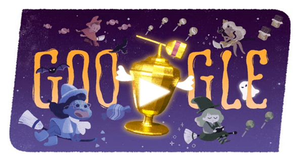 Googleロゴでキャンディ集めゲーム!「キャンディー世界大会」