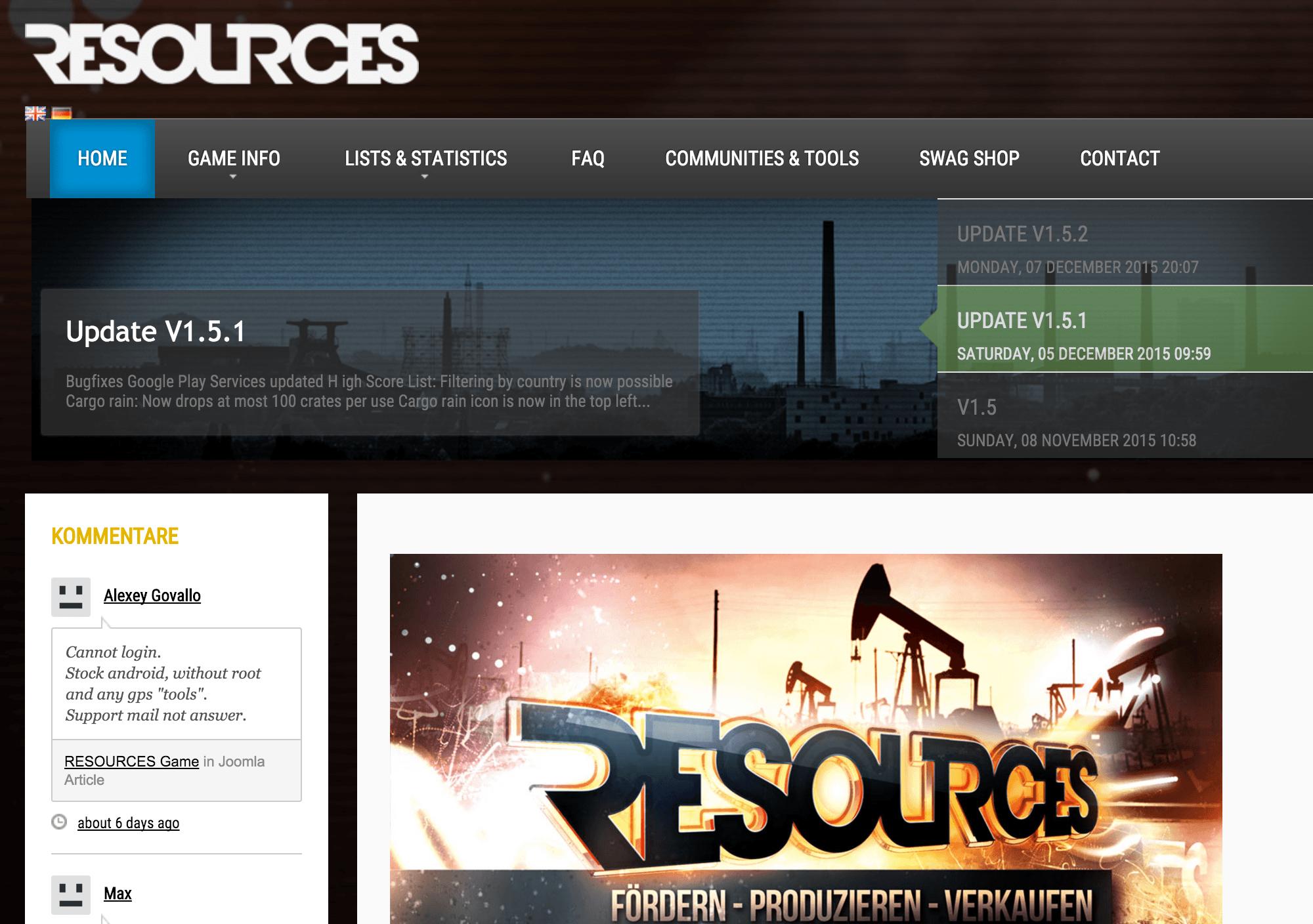 Ingressのエージェントが流れているらしい!?穴掘り資産運用ゲーム「リソース(Resources)」