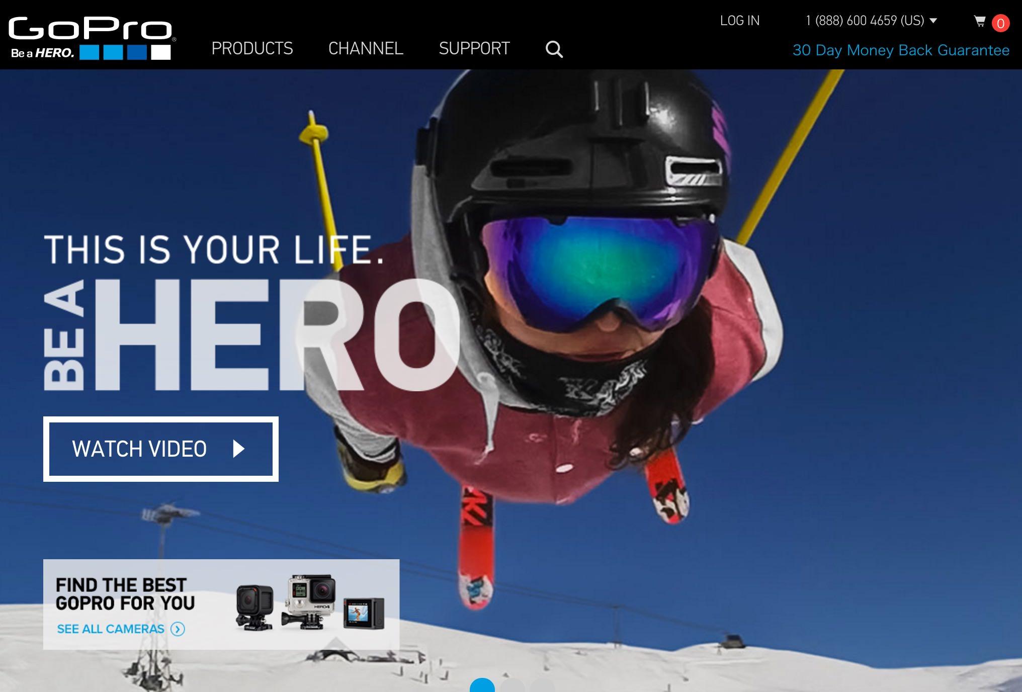 GoPro、Periscopeでライブ配信可能に → スポーツやファッションショーの中継が手軽に実現