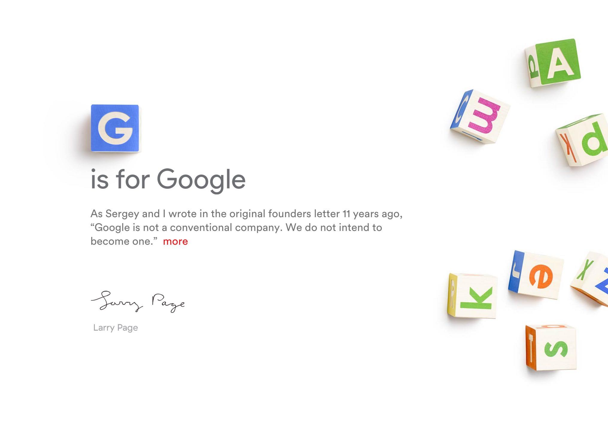 「Alphabet」Googleの親会社の時価総額がAppleを抜く