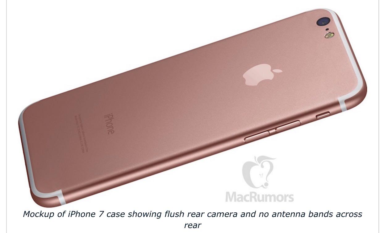 「iPhone 7」カメラの出っ張りがなくなるらしい