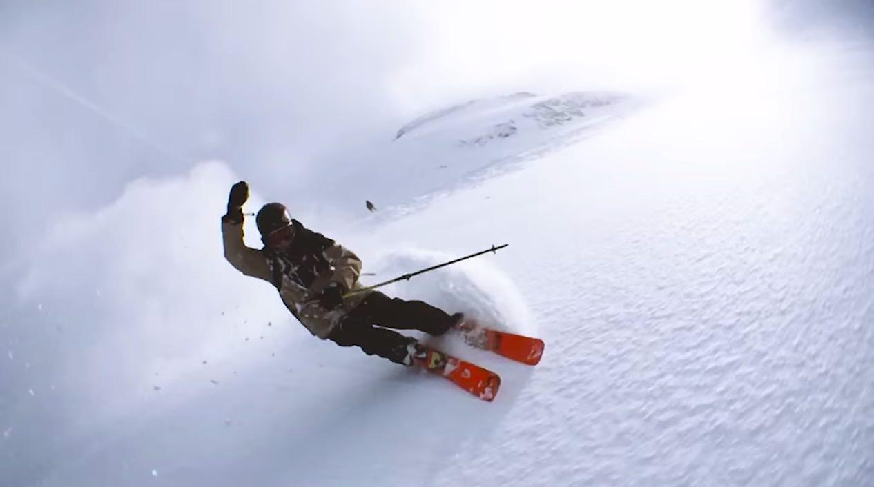 【動画】iPhone 6を振り回して撮影されたスキーのバレットタイム動画が凄すぎた