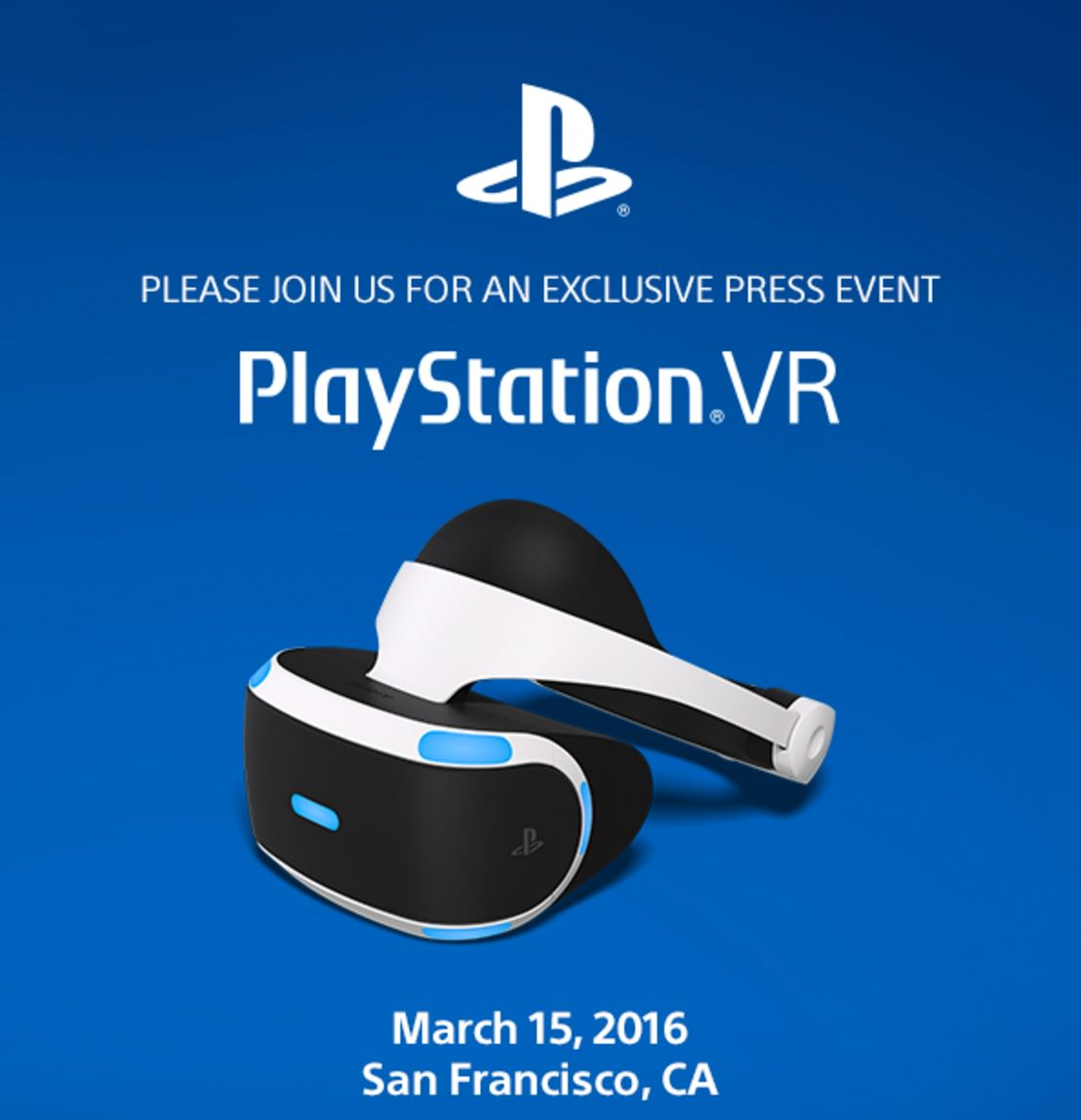 「PlayStation VR」2016年3月15日発表へ #PlayStationVR