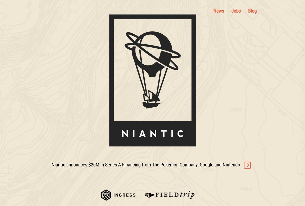 【Ingress】「Niantic, Inc.」フジテレビなどから500万ドルの追加資金を調達と発表