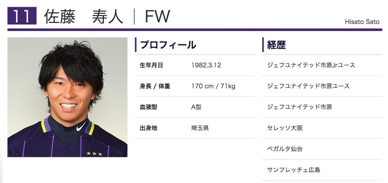 サンフレッチェ広島・佐藤寿人、J1歴代最多得点を158に更新