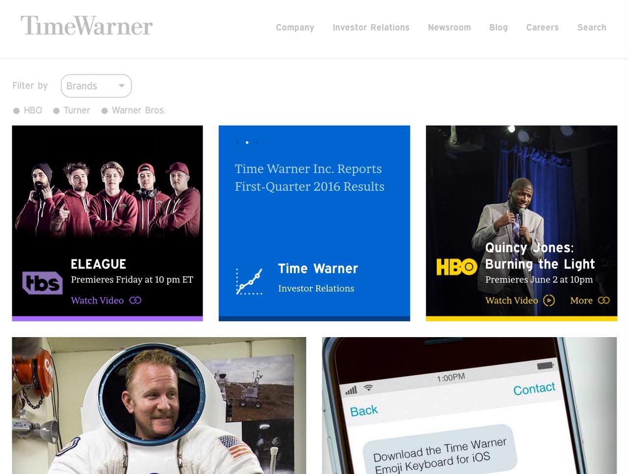 Apple、Time Warnerの買収を検討していたと報じられる