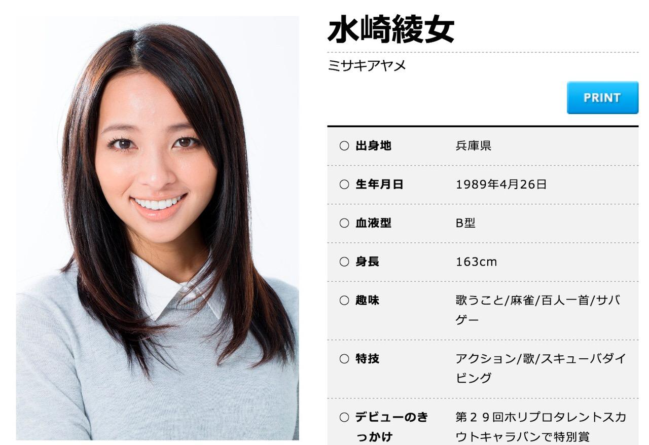 水崎綾女、省エネ関係の男性と結婚を発表