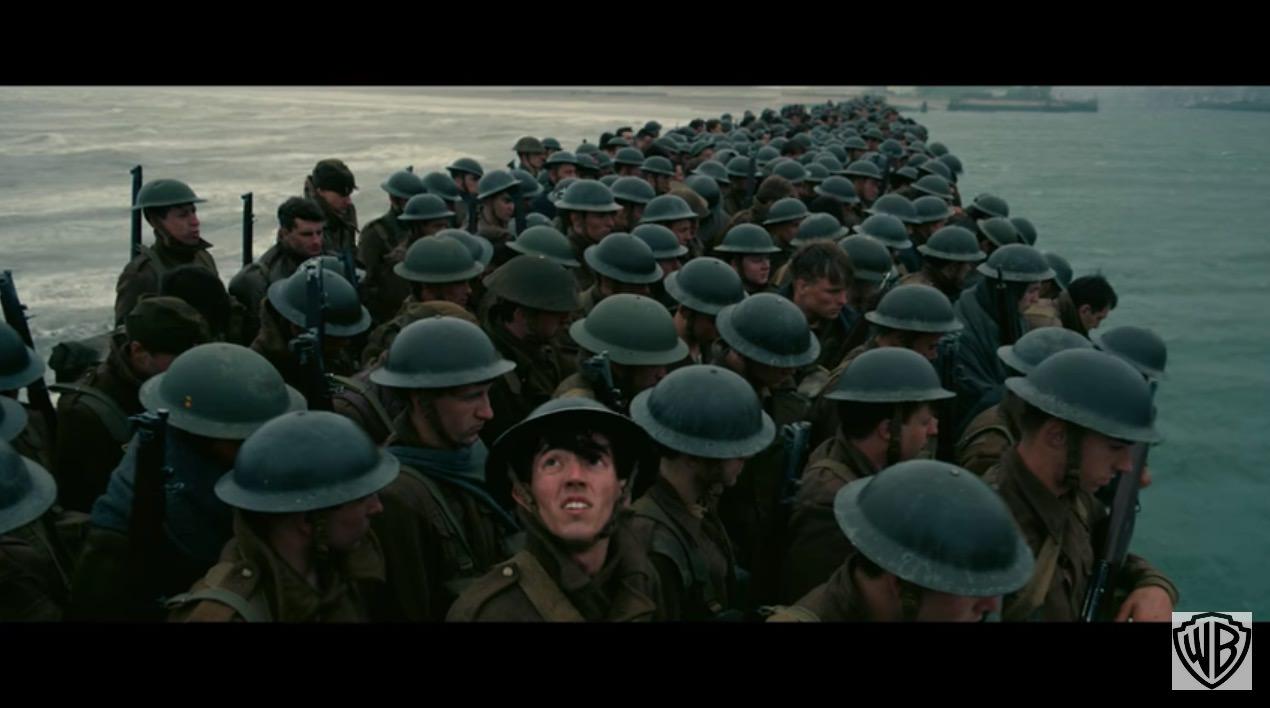 【動画】「ダークナイト」3部作などのクリストファー・ノーラン監督の新作「Dunkirk(ダンケルク)」の初映像が公開される