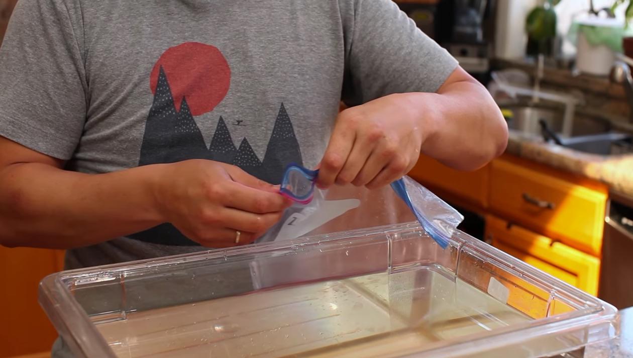 【動画】超簡単に肉塊を真空パックする方法