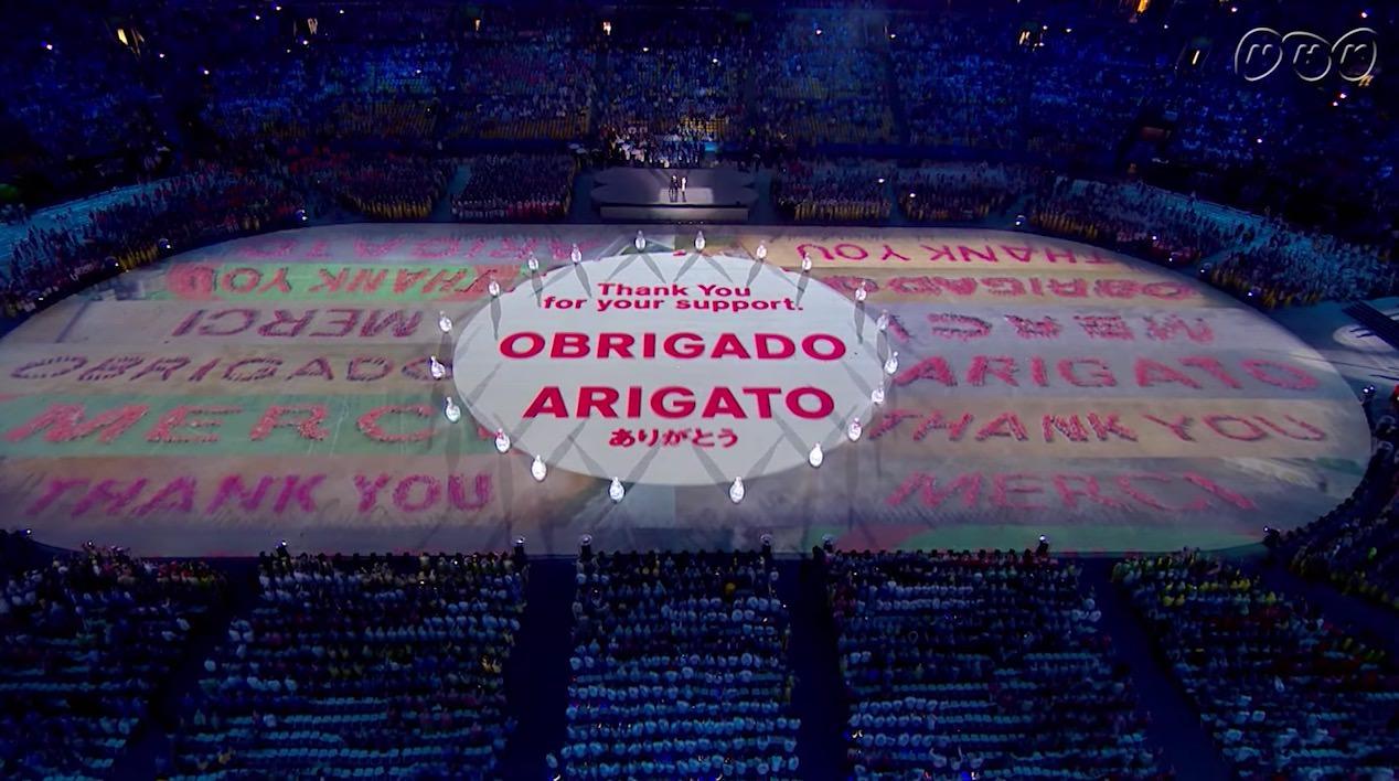 【動画】リオ五輪閉会式で東京五輪のトーキョーショー!マリオ、ドラえもん、キャプテン翼にパックマンにキティちゃん