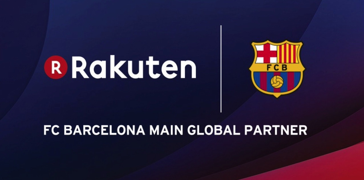 FCバルセロナ、楽天がグローバルメインスポンサーになることを発表