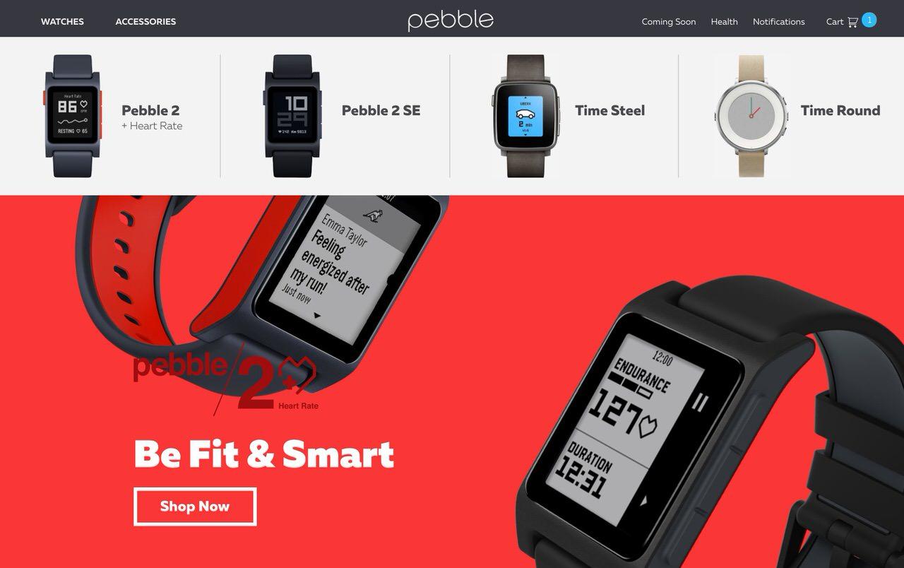 Fitbitが「Pebble」を買収か?ブランドは消滅へ