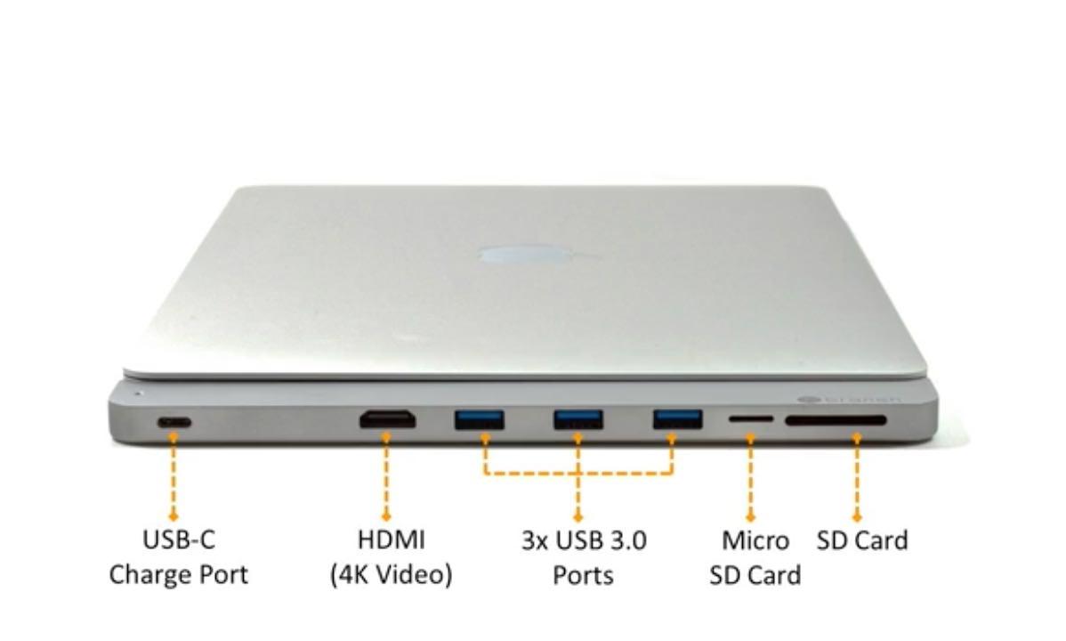 MacBook ProのUSB-Cを拡張するドック「cPro」がKickstarterに登場