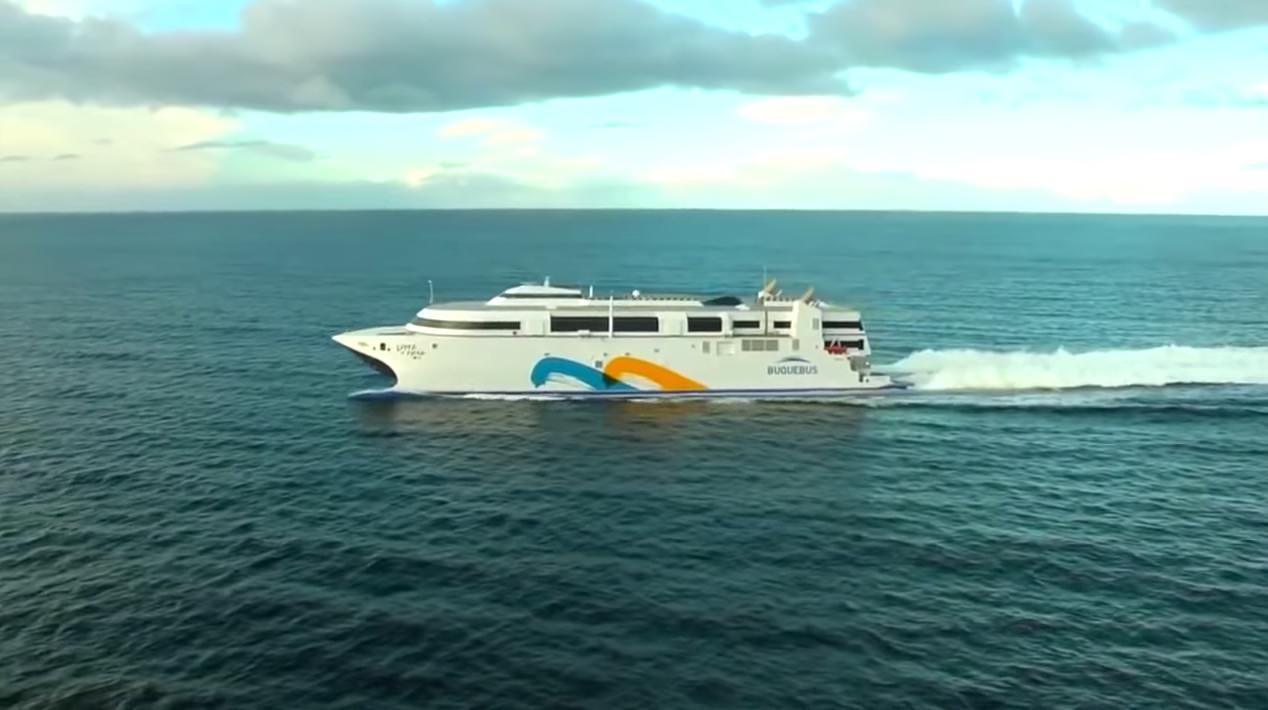 【動画】1,000人乗船&クルマ150台を搭載し時速100kmで進む世界最速のフェリー