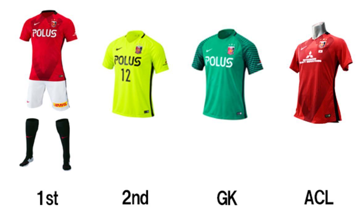 浦和レッズ、2017シーズンの選手背番号とユニフォームを発表