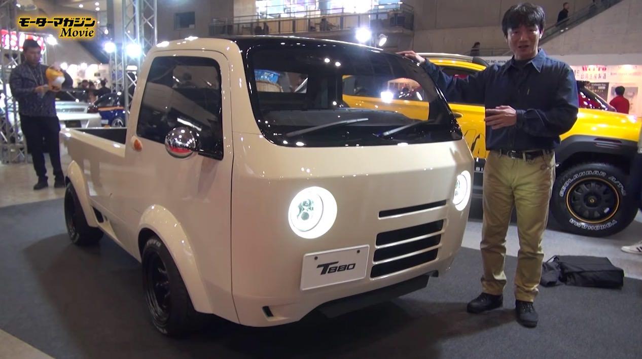【動画】東京オートサロン2017で発表された軽トラ「T880」がベイマックスみたいでかわいい