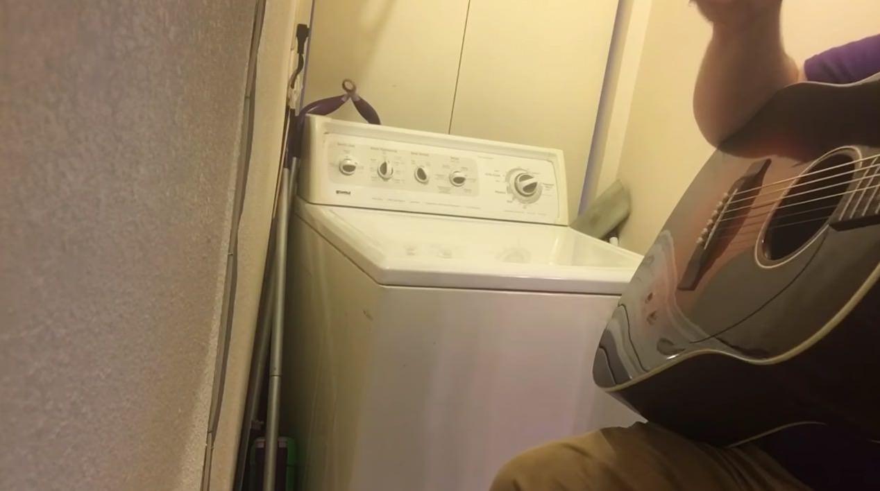 【動画】くだらないけど面白いwww洗濯機とセッションwww
