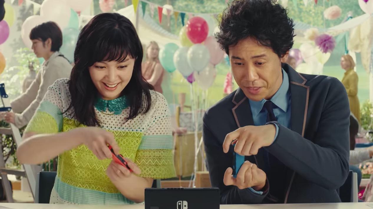 【スイッチ】「Nintendo Switch」テレビCMに出演する女優は誰?