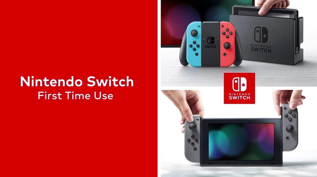 【スイッチ】「ニンテンドースイッチ(Nintendo Switch)」セットアップ動画が公開
